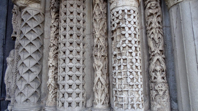 Старинные колонны