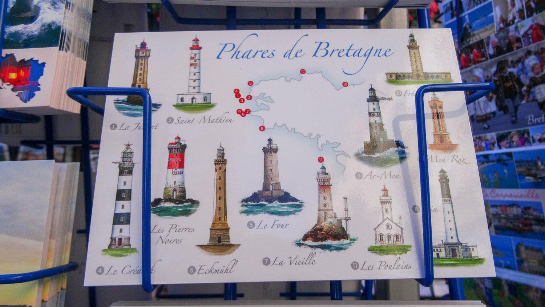 Нашли открытку с перечнем маяков. Классные