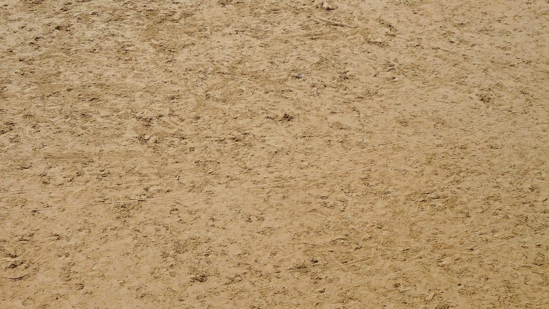 Опять фотографирую песок. Здесь он плотный, мелкий, но к ногам почти не липнет, т.к. тяжелый. Когда сухой - светлый, мокрый намного-намного темнее