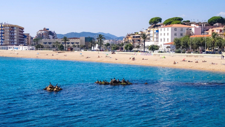 Пляжный отдых в Бланесе прекрасен