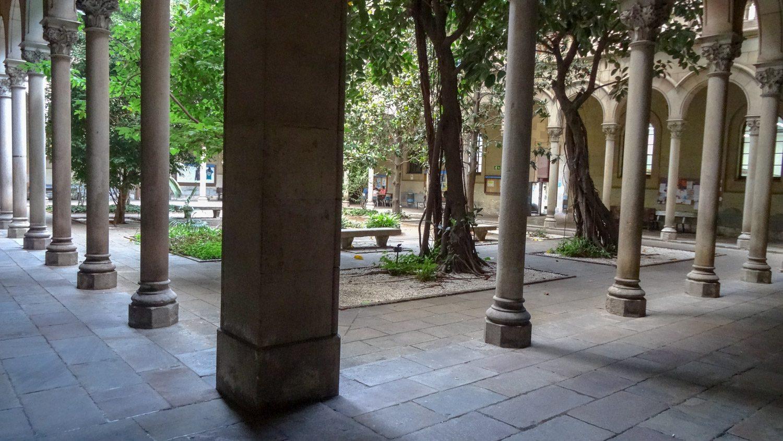 Внутренний дворик Барселонского университета