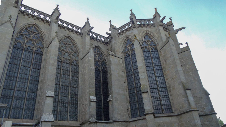 Построен собор в XI веке