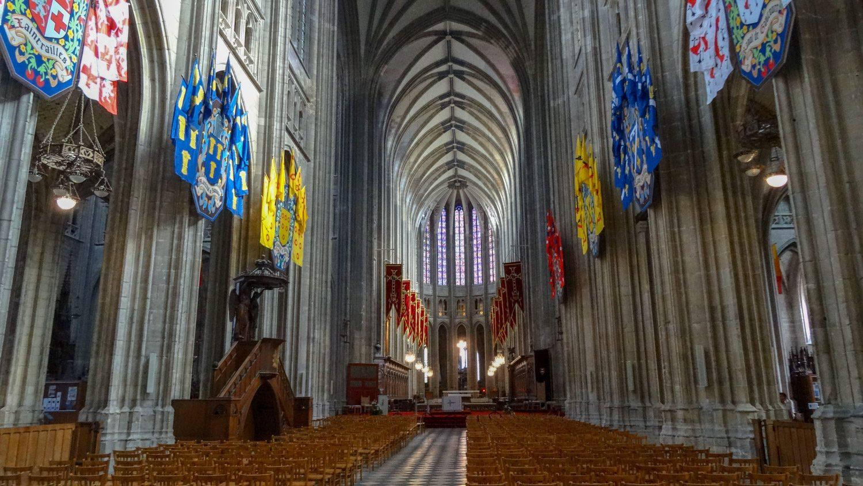 Построен собор в XIV веке