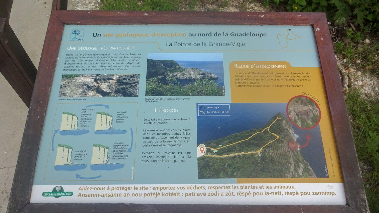 Информационные щиты помогают сразу узнать основную информацию о парке