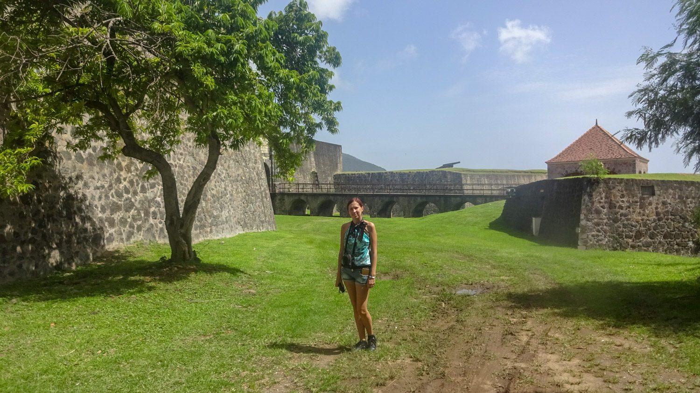 Форт старый, он был выстроен в 1690 году, но поддерживается в отличном состоянии!