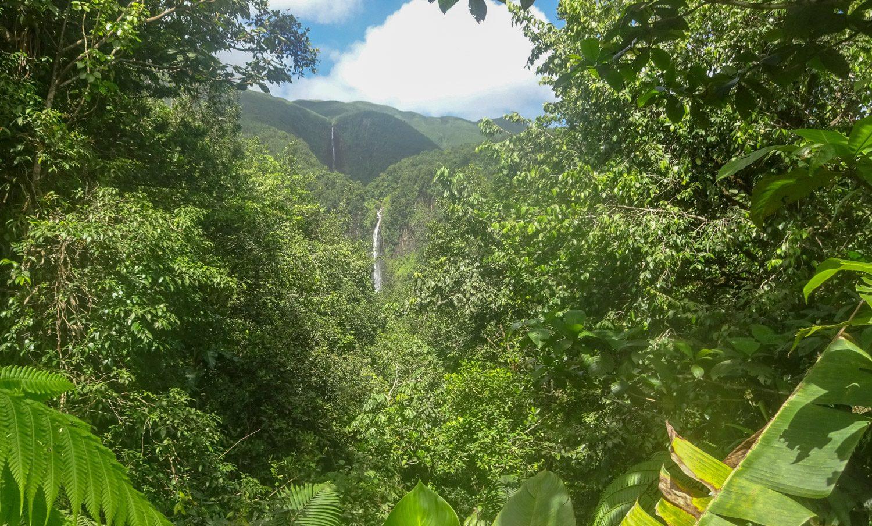 Водопады видно издалека