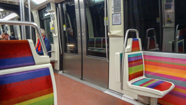 В метро чисто