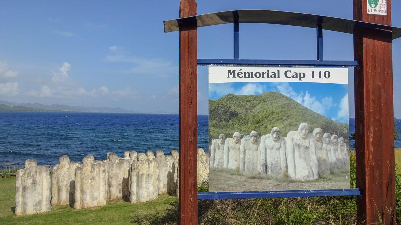 Мемориал Cap 110 был воздвигнут в 1998 году. Прошло 150 лет с отмены рабства