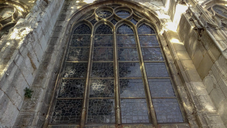Витраж кафедрального собора