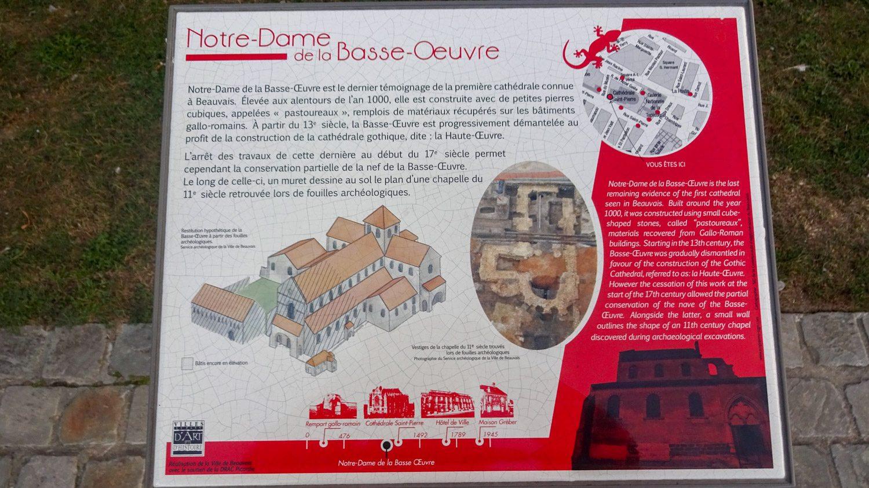 Информация о Notre Dame de la Basse-Oeuvre