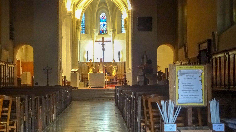 В церкви Notre Dame du Thil