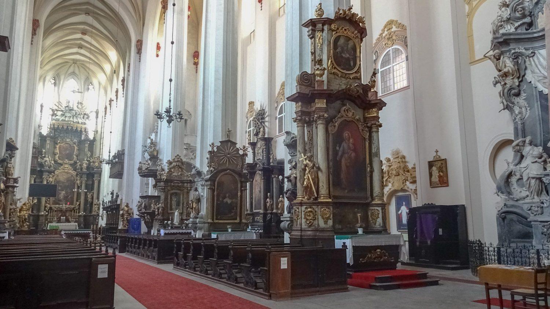 Костелы во Вроцлаве потрясающей красоты как снаружи, так и внутри