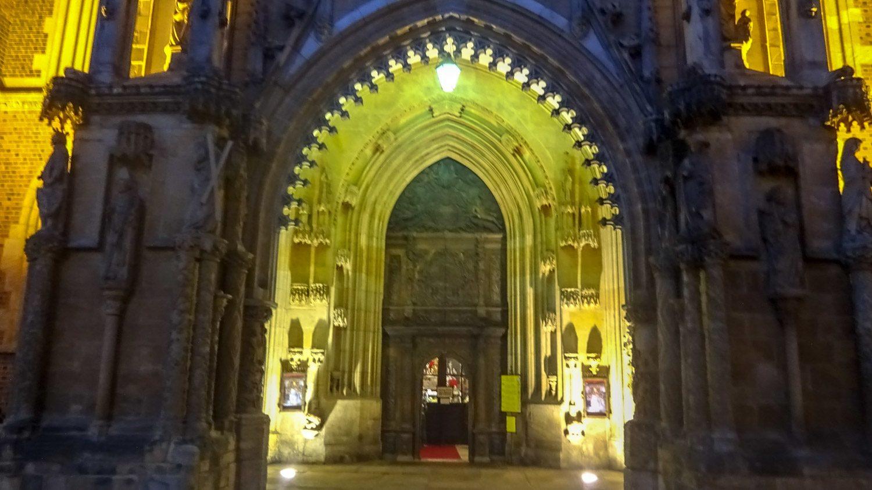 Ворота в Кафедральный собор