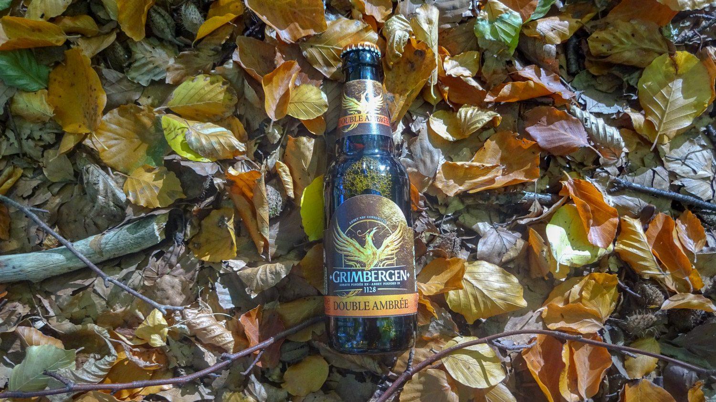 Янтарное пиво вписалось в пейзаж