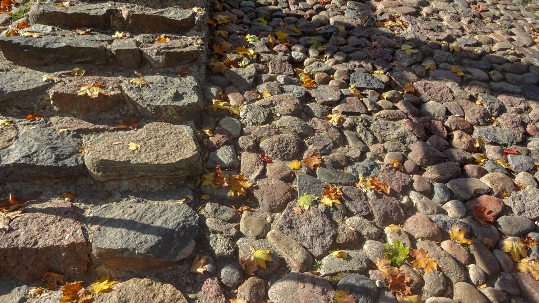 Вот такая дорога ведет к башне Гедимина