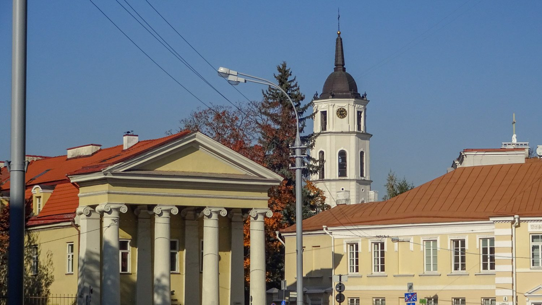 Осенний Вильнюс прекрасен