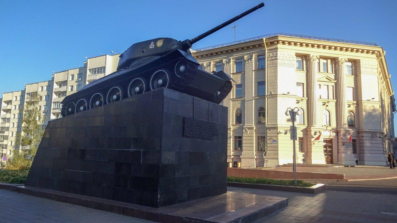 Памятник воинам-танкистам освободителям Минска