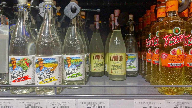 Разнообразие алкоголя