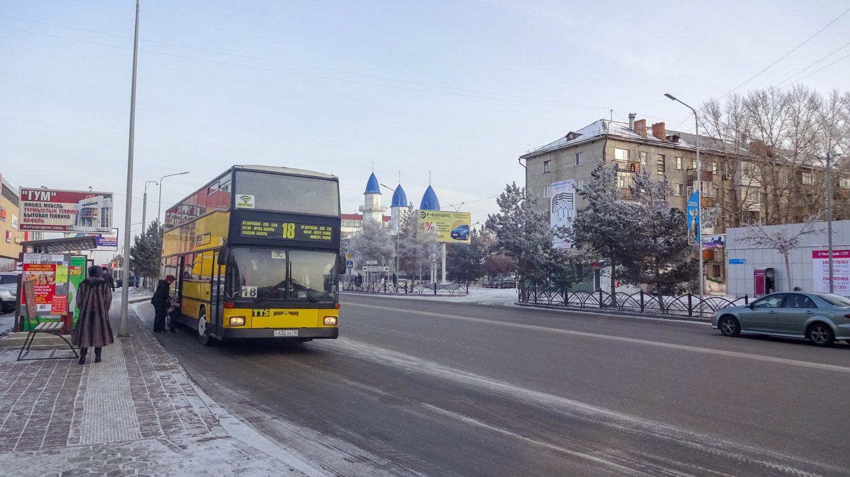 Двухэтажные электробусы