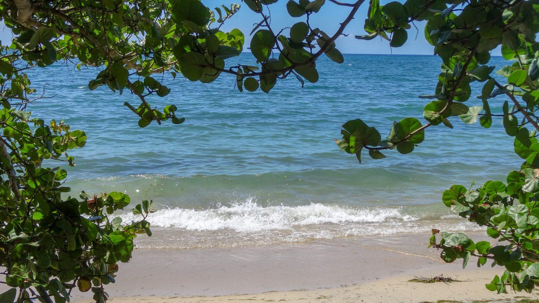 Один из ближайших пляжей