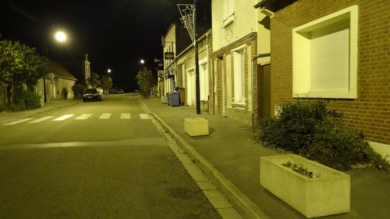 Ночной городок Тийе