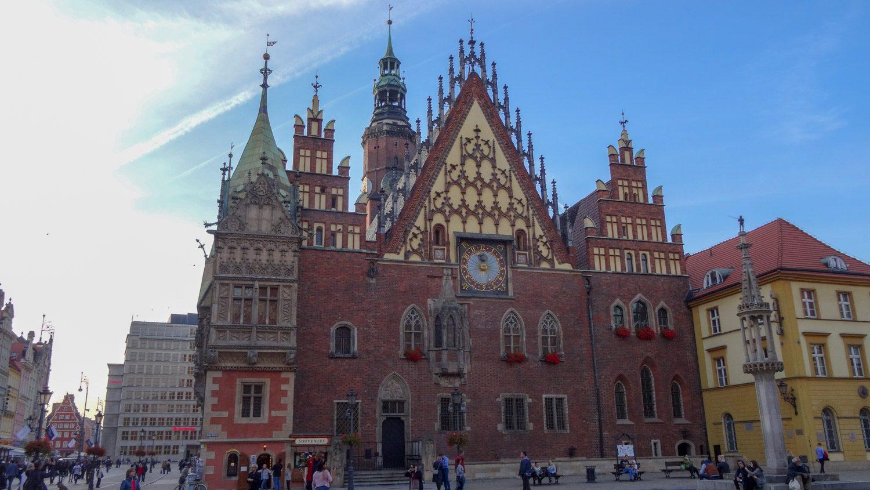 Очень красивая ратуша