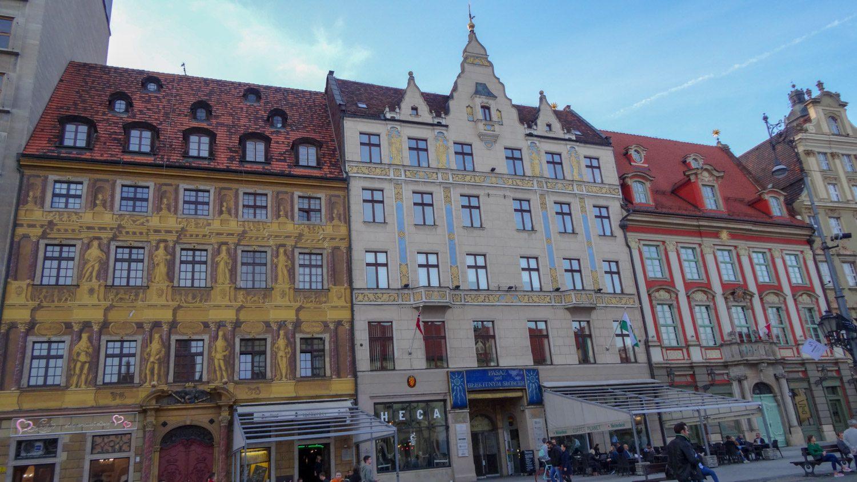 Пряничные домики на Рыночной площади