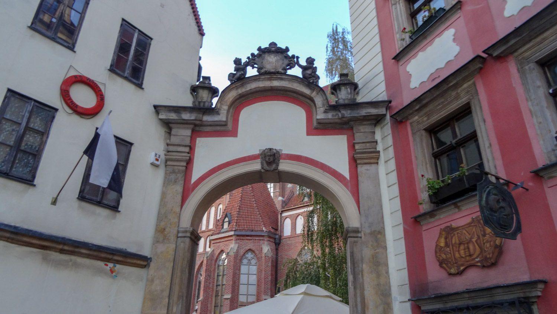 Арка в Старом городе