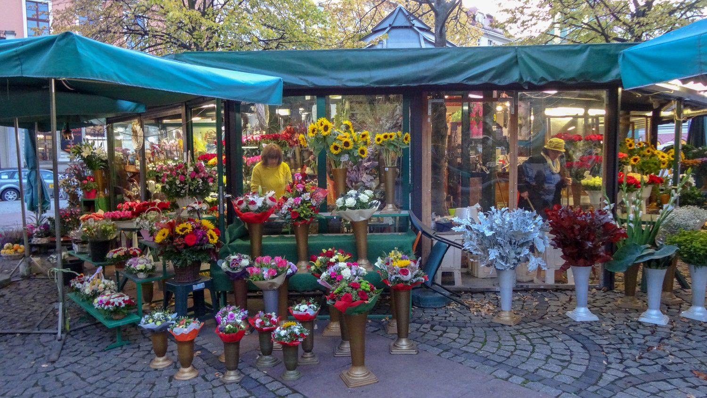 Цветочный ларек на Соляной площади
