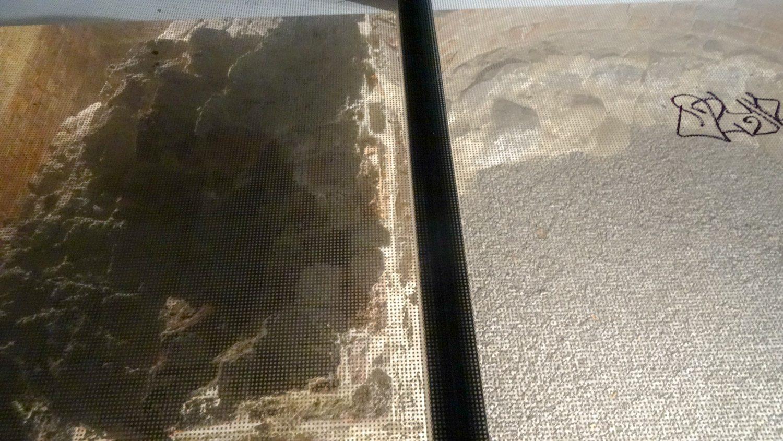 Руины под стеклом