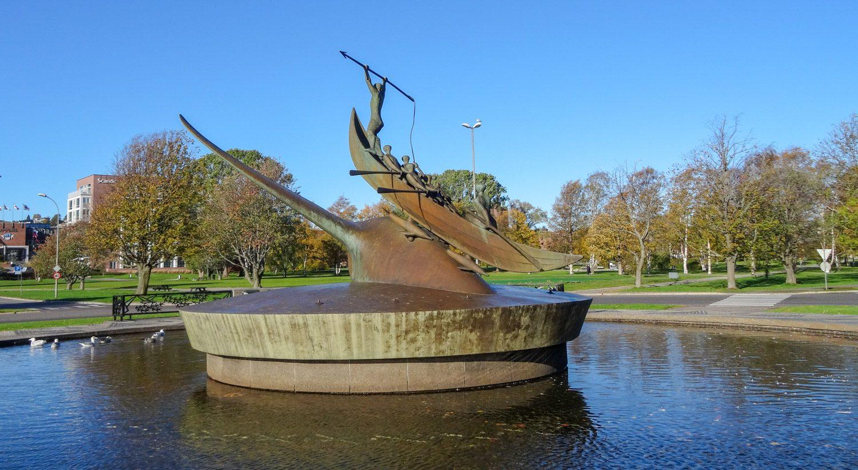 Памятник китобоям