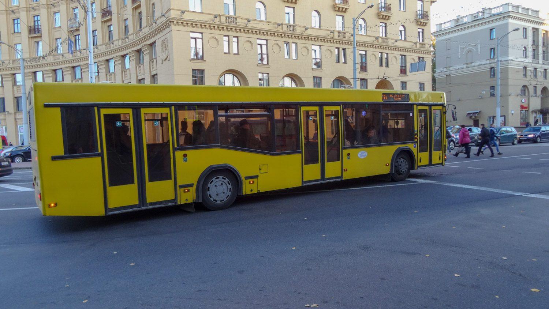 Яркие автобусы Минска