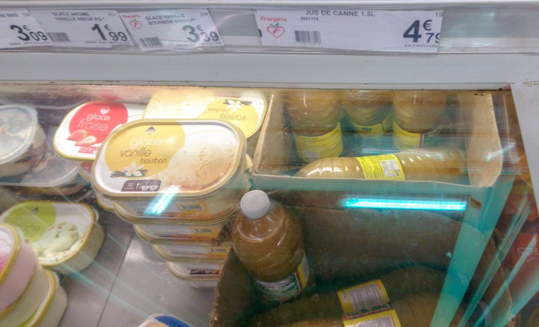 Сок из сахарного тростника? Выглядит не очень