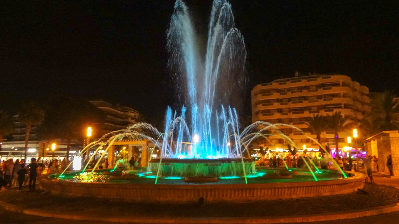 Fuente Lluminosa - музыка, вода, свет... Обожаю!