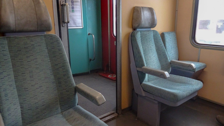 В Шиофок мы приехали на удобном поезде