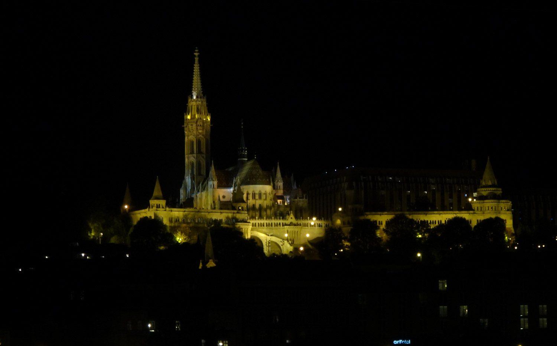 Прекрасный вечерний Будапешт