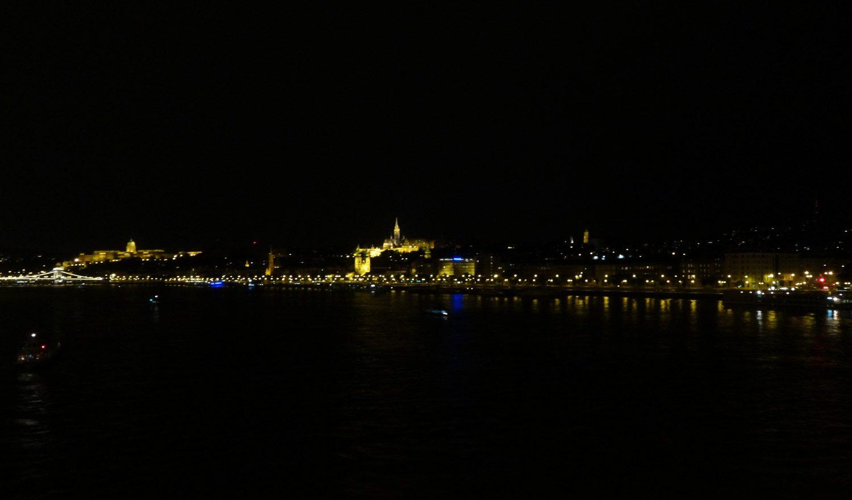 Ночной Дунай