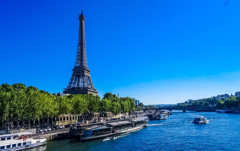 С моста через Сену