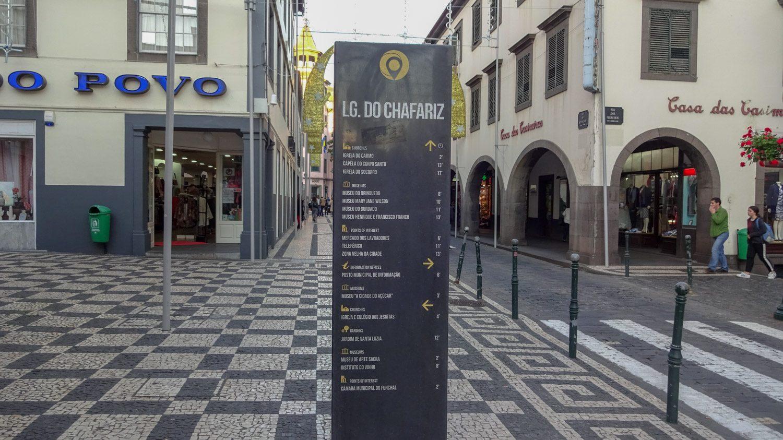 Удобные указатели в центре города