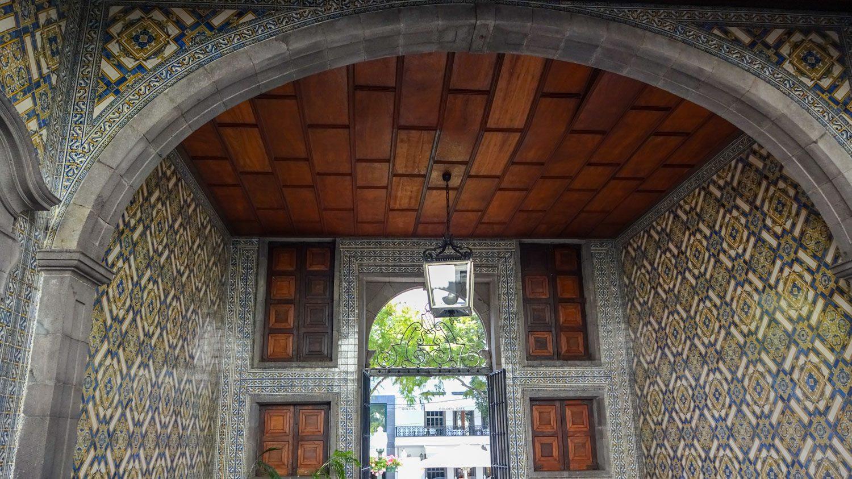 В здании Правительства Мадейры