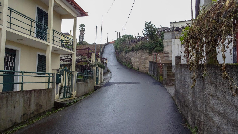 Дорога из Сантаны к парку Queimadas