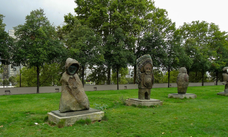 Скульптуры Les Enfants du Monde