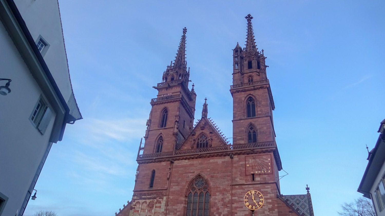 Basler Münster. Кафедральный собор Базеля