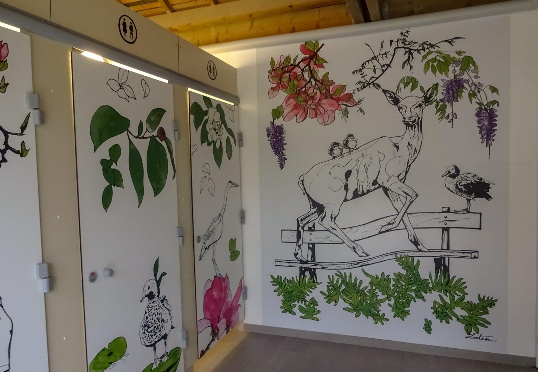 А вот эта красота - бесплатный общественный туалет. Неожиданно, правда? Во Франции вообще власти про туалеты не забывают, молодцы, меньше грязи на улицах