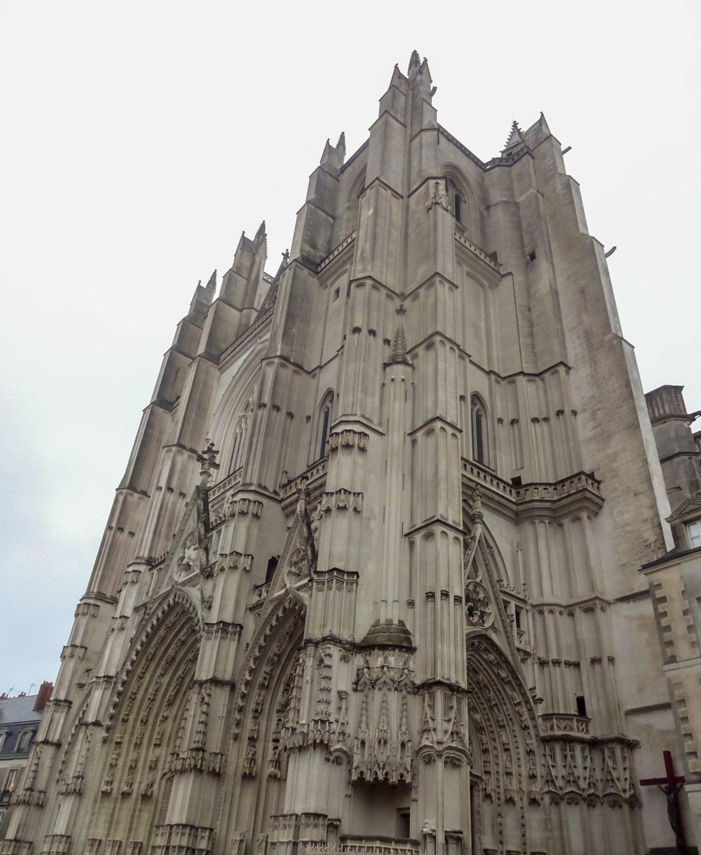 Главный собор Нанта строился аж несколько веков