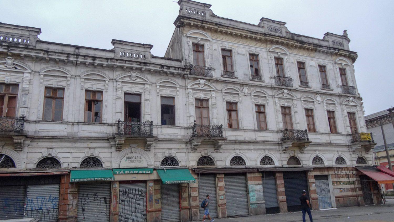 Старых зданий тоже достаточно