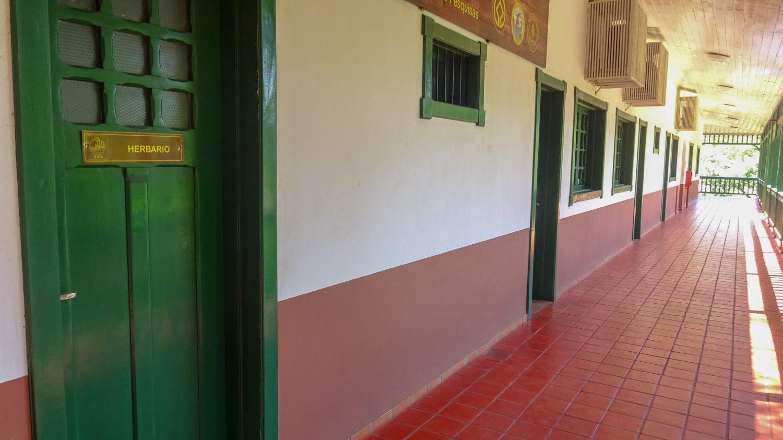 Плакаты - в этом длинном коридоре
