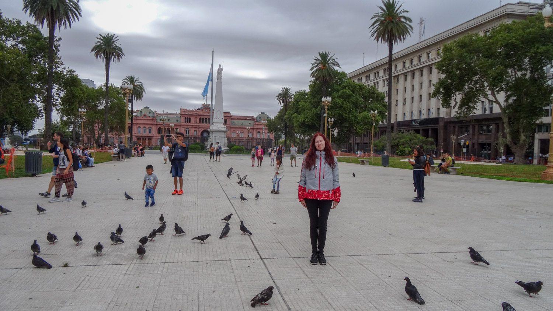 Plaza de Mayo - главная площадь Буэнос-Айреса