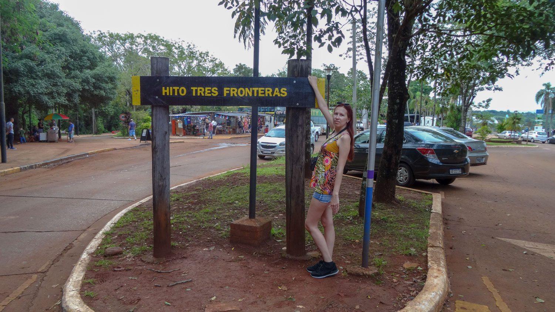 На въезде в парк