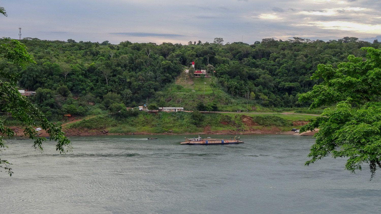 Вид на Парагвай